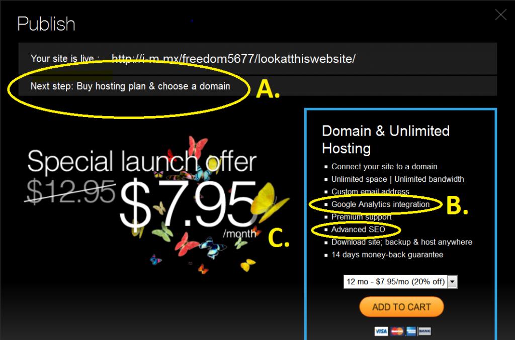 totally free website builder