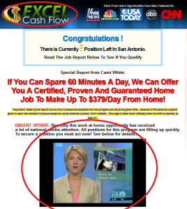 excel cash flow scam